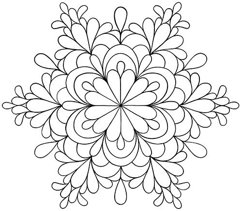 Kukka Värityskuva